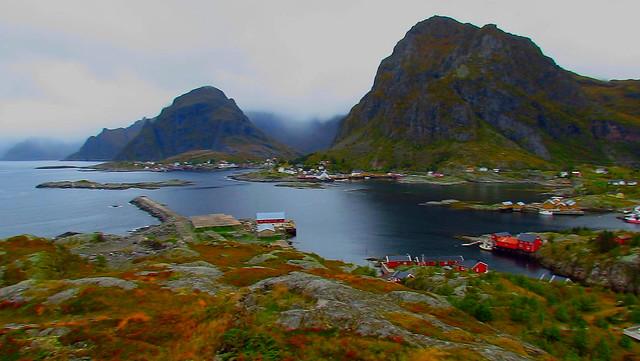 Lofoten Islands Moskens Å, Nordland, Norway