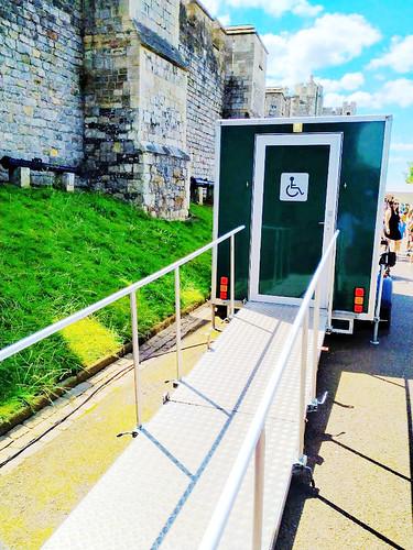 溫莎城堡無障礙廁所