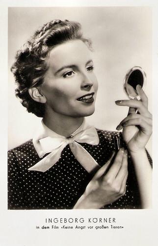 Ingeborg Körner in Keine Angst vor großen Tieren (1953)