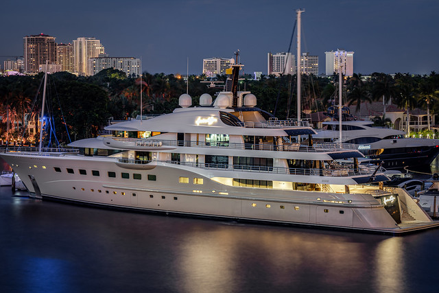 SuperYacht 'Here Comes the Sun' - Fort Lauderdale