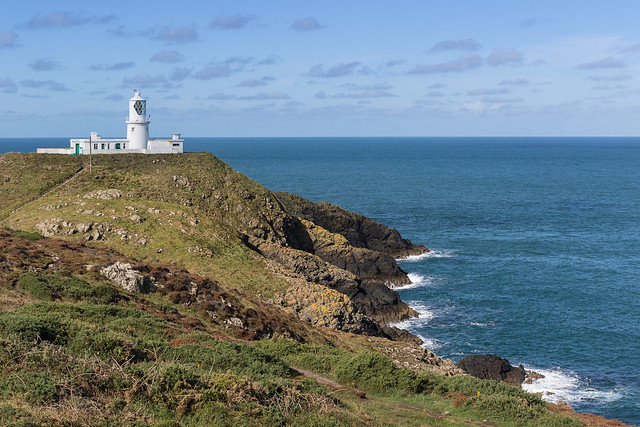 (a slightly different view of ) Strumble Head, Pembroke