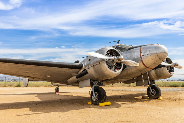 C-45J Expediter @ March Airfield