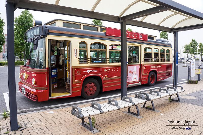 Yokohama Akai Kutsu Bus