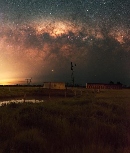 Milky Way at Harvey, Western Australia