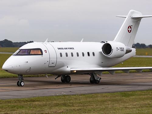 Swiss Air Force   Canadair CL-600-2B16 Challenger 604   T-752
