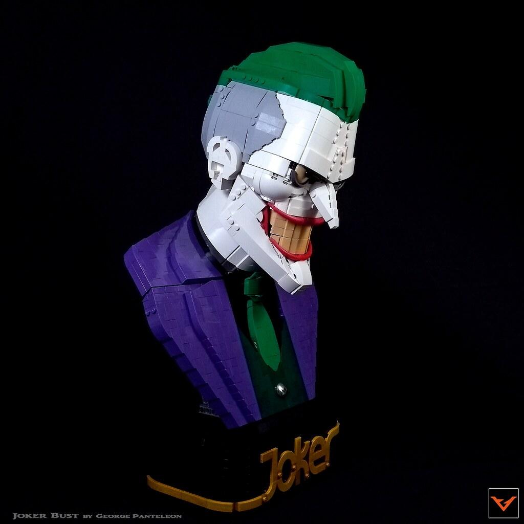 joker bust bricktasticblog an australian lego blog