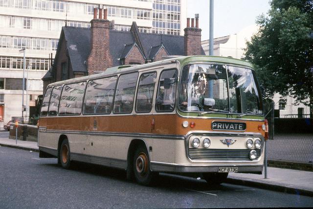 Halifax Corporation . 273 KCP873G . Victoria Coach Station , London . June-1969