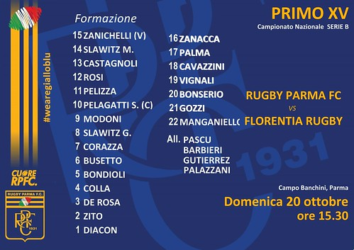 RPFC vs Florentia 20.10.19