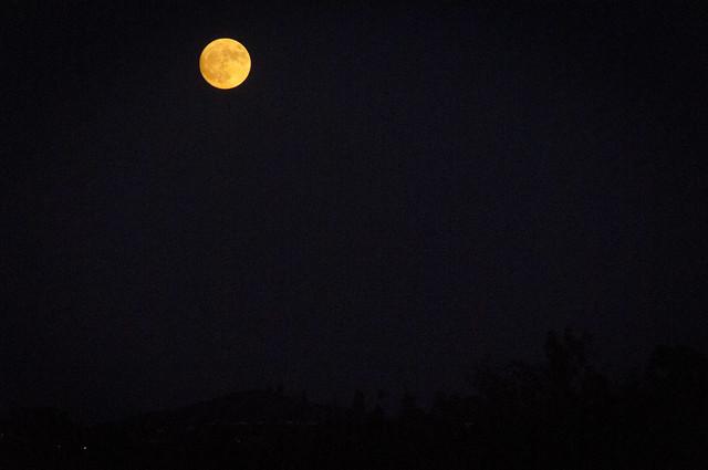 Moon over San Marcos