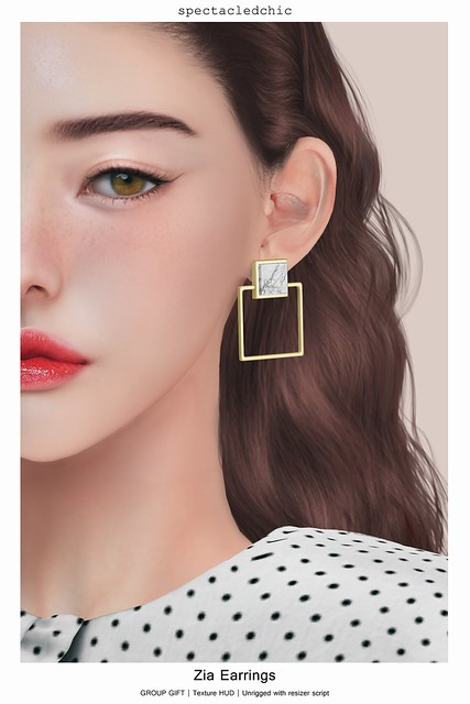 [spectacledchic] Zia Earrings GROUP GIFT