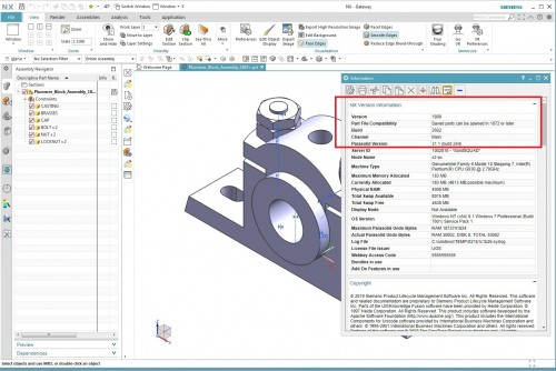 Working with Siemens NX 1888 full license