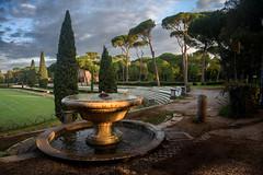 Rome - Villa Borghese - Piazza di Siena