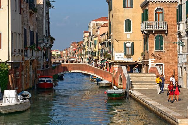 Venezia / Rio della Misericordia / Ponte dell' Aseo