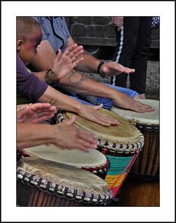 Innviertel - Afrika-Fest, aus dem Rythmus in Mamling
