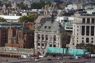 Tallis House, JP Morgan and Unilever Building, from Blavatnik Building, Tate Modern, Bankside, Borough of Southwark, London