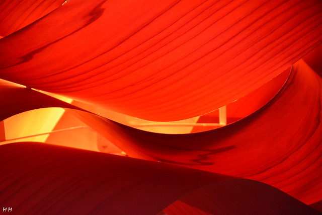 Abstracción en rojo