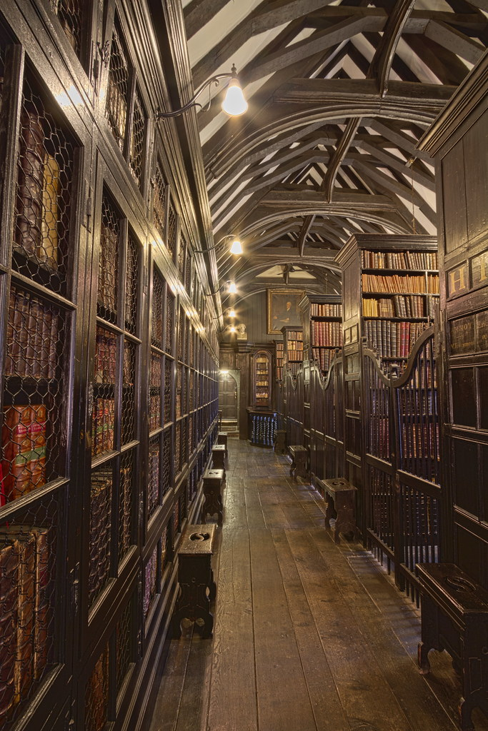 Chethams Library in Manchester, England [OC][683x1024]