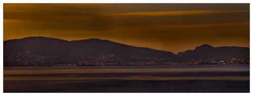 Vista de la Ria de Pontevedra (desde Sanxenxo)