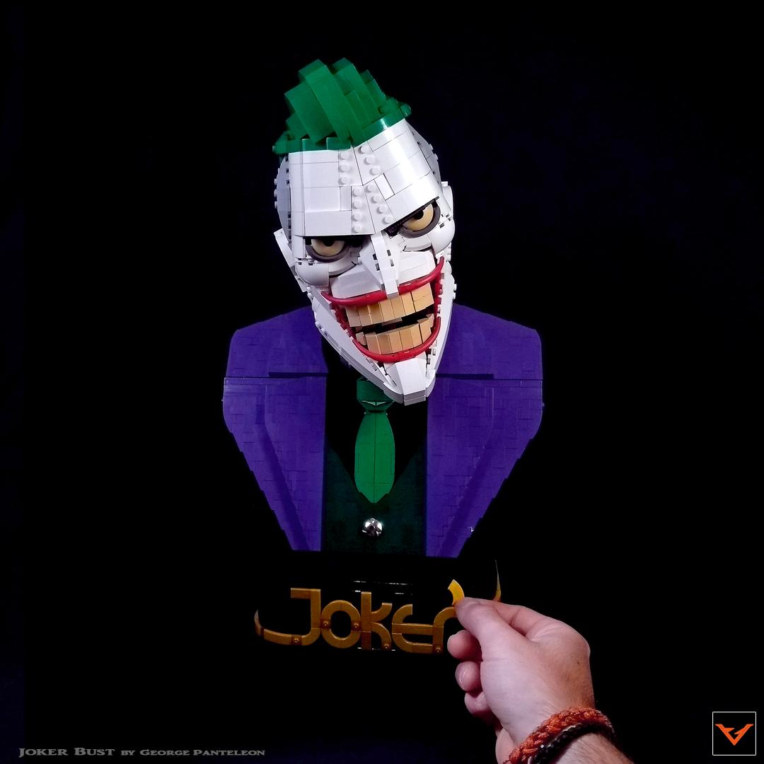 Joker Lego Bruce timm