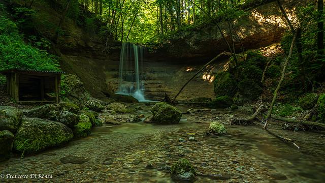 Waterfall Wald (ZH) 5.)1908-5435