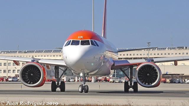G-UZHK - easyJet - Airbus A320-251N - PMI/LEPA