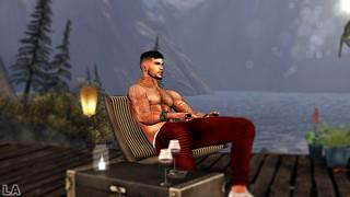 Wine and mountain views