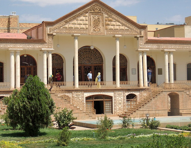 Middle East Summer palace and gardens, Tabriz, Iran