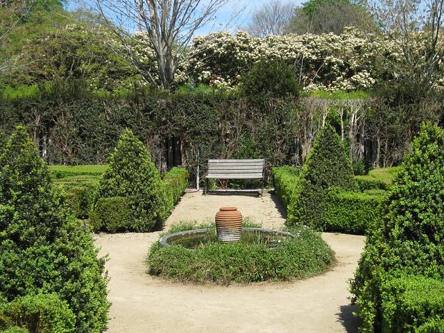 The Parterre Garden - Alowyn Gardens, Yarra Valley