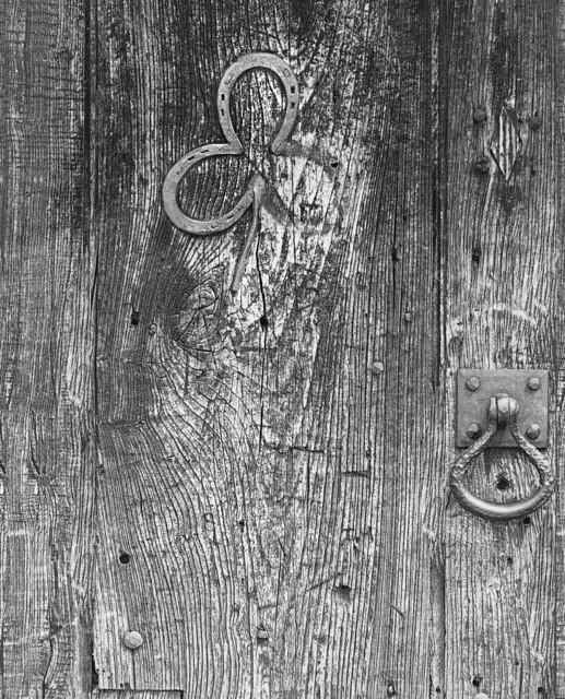 A Two Leaf Clover Door