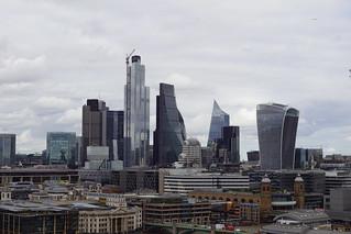 TwentyTwo (22 Bishopsgate), Cheesegrater (Leadhenhall Building), Scalpel (52 Lime Street) and Walkie-Talkie (20 Fenchurch Street), from Blavatnik Building, Tate Modern, London (8)