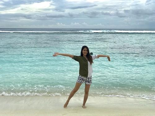 portrait beach Maldives