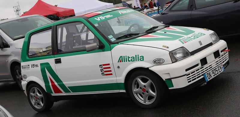 "FIAT Cinquecento ""Capricciosa"" Turbo 140 Chx Alitalia  48928729383_ee87d76157_c"
