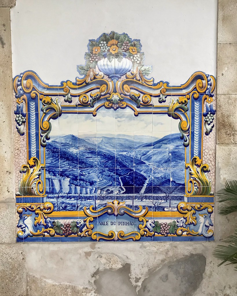 Azulejos in Pinhao