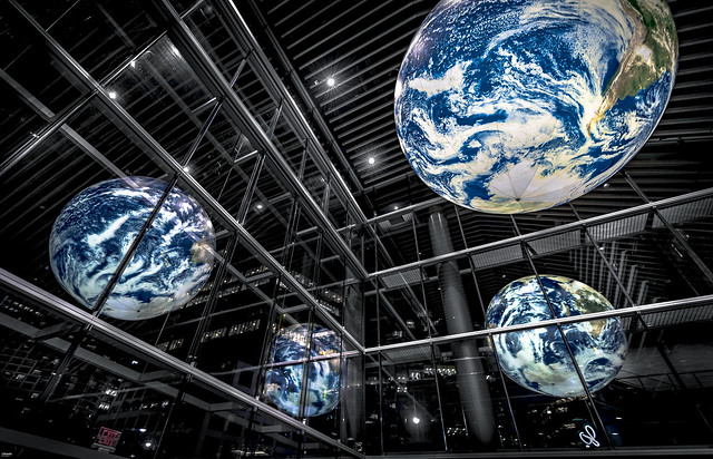 The Earth at Vancouver Convention Centre