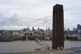 St. Pauls Cathedral, Sir Christopher Wren (Architect), from Blavatnik Building, Tate Modern, Bankside, Borough of Southwark, London (7)