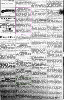 2019-10-20. Bee Movie, Gazette, 10-12-1923