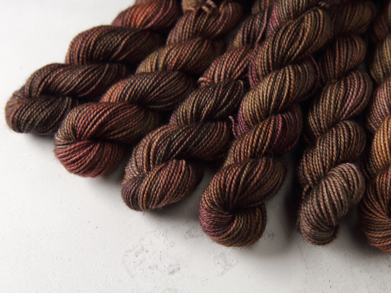 Yarn Advent Calendar day 20: Copperbeach