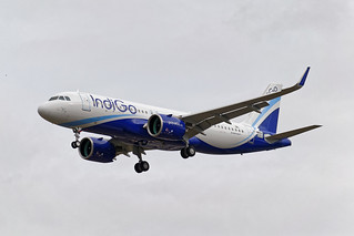 F-WWBX - Airbus A320 - IndiGo (test in flight)