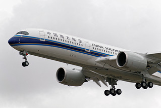 F-WZNX - Airbus A350 - China Southern Airlines (test in flight)