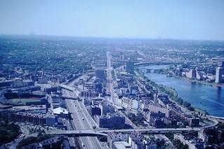 Found Photo - Aerial View of Boston