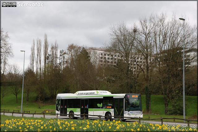 Heuliez Bus GX 337 GNV – CTY (Compagnie des Transports du Yonnais) (RATP Dev) / Impulsyon n°400