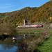 Goldener Oktober im Tal der Blau