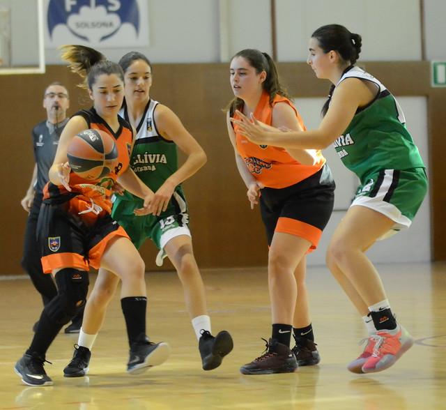 19.10.19 Júnior femení contra CB Llibia-Puigcerdà