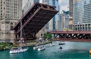 Bridge opening.