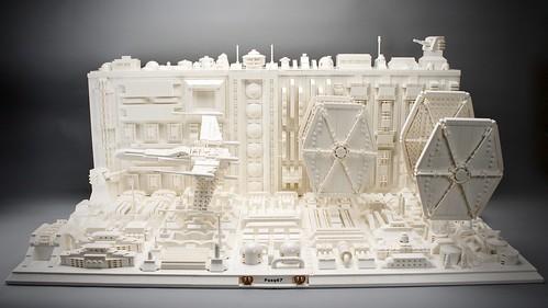 LEGO Star Wars Trench Run Monochrome