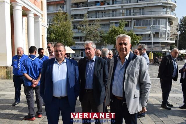 Βέροια - Αποκαλυπτήρια μνημείου πεσόντων 20/10/2019