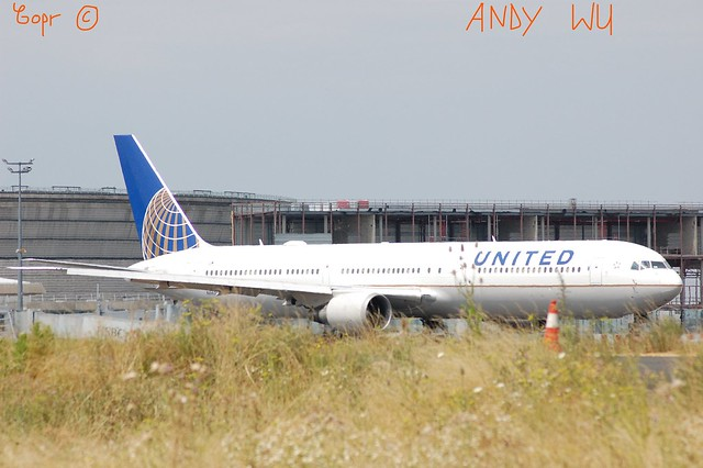 Boeing 767 United Airlines (07/26/2019)