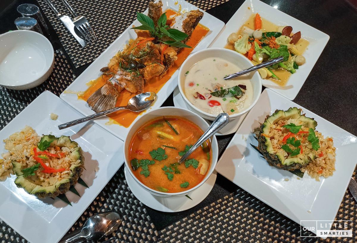 Charm Thai Set Menu