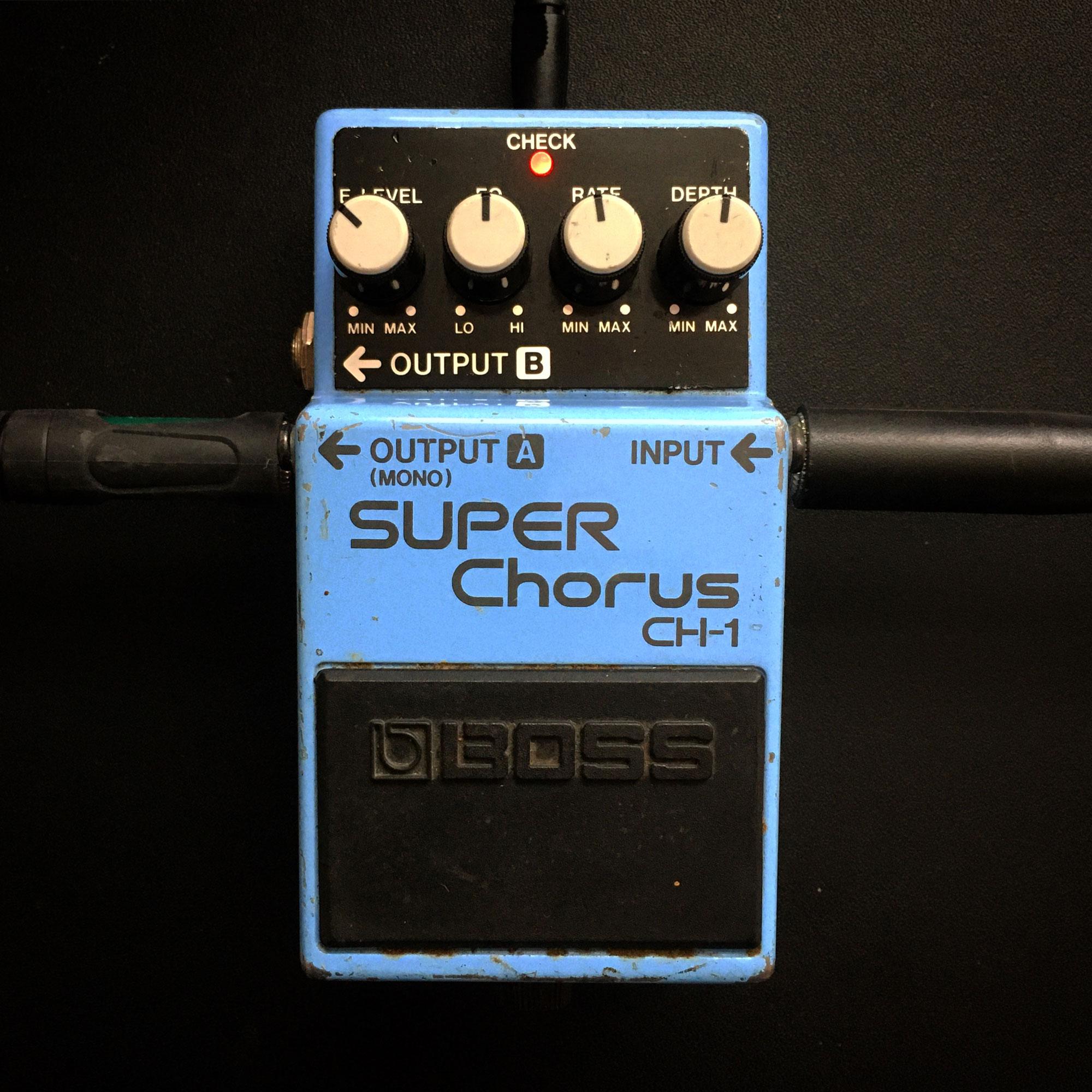 Boss CH-1 Super Chorus (1990)