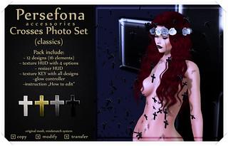 Persefona Crosses Photo Set (classics)